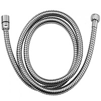 "Jaclo 3049-DS-PCH 49"" Brass Double Spiral Bathroom Handshower Hose (Polished Chrome)"