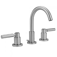 Jaclo 8880-L-PCH Contempo Widespread Lavatory Faucet with Lever Handles and Pop-Up Drain for Concealed Applications, Polished Chrome